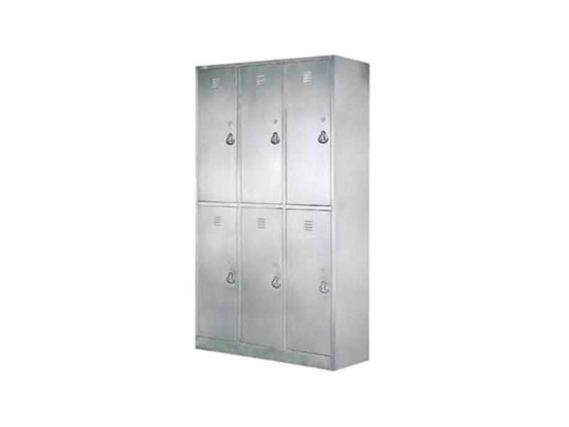 C78 不锈钢六门更衣柜