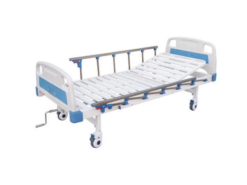 A11 ABS条式单摇床(四脚刹车|六档护栏)