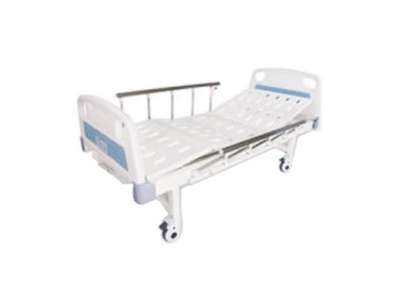 A7 ABS床头双摇床(带轮|护栏)