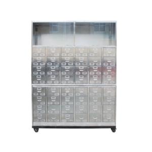 C84 不锈钢中药柜(144味)